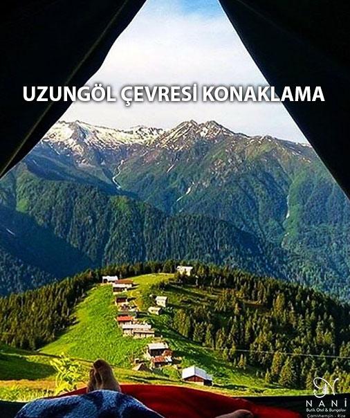 Trabzon Uzungöl Çevresi Konaklama