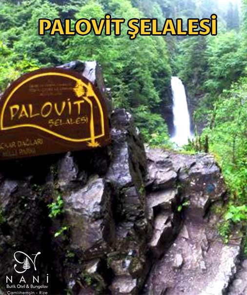 Palovit Şelalesi Rize